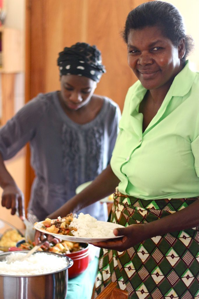 Cuoca africana.