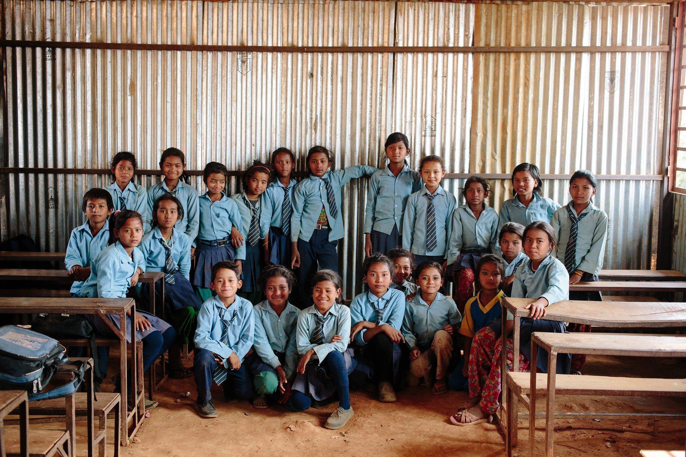 Foto di classe.