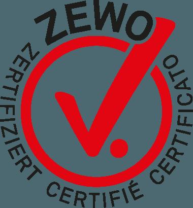Logo Zewo Certificato