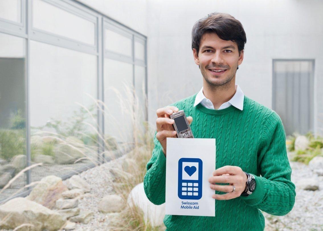 Swisscom Mobile Aid - Stefan Lambiel