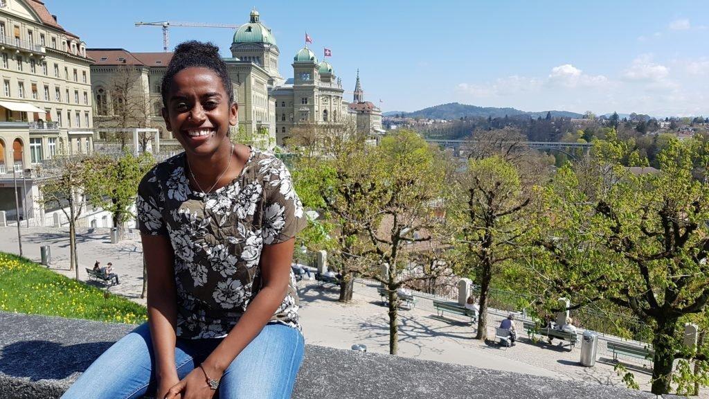 Betty, gebürtige Äthiopierin, forscht in Bern für ihre Doktorarbeit.