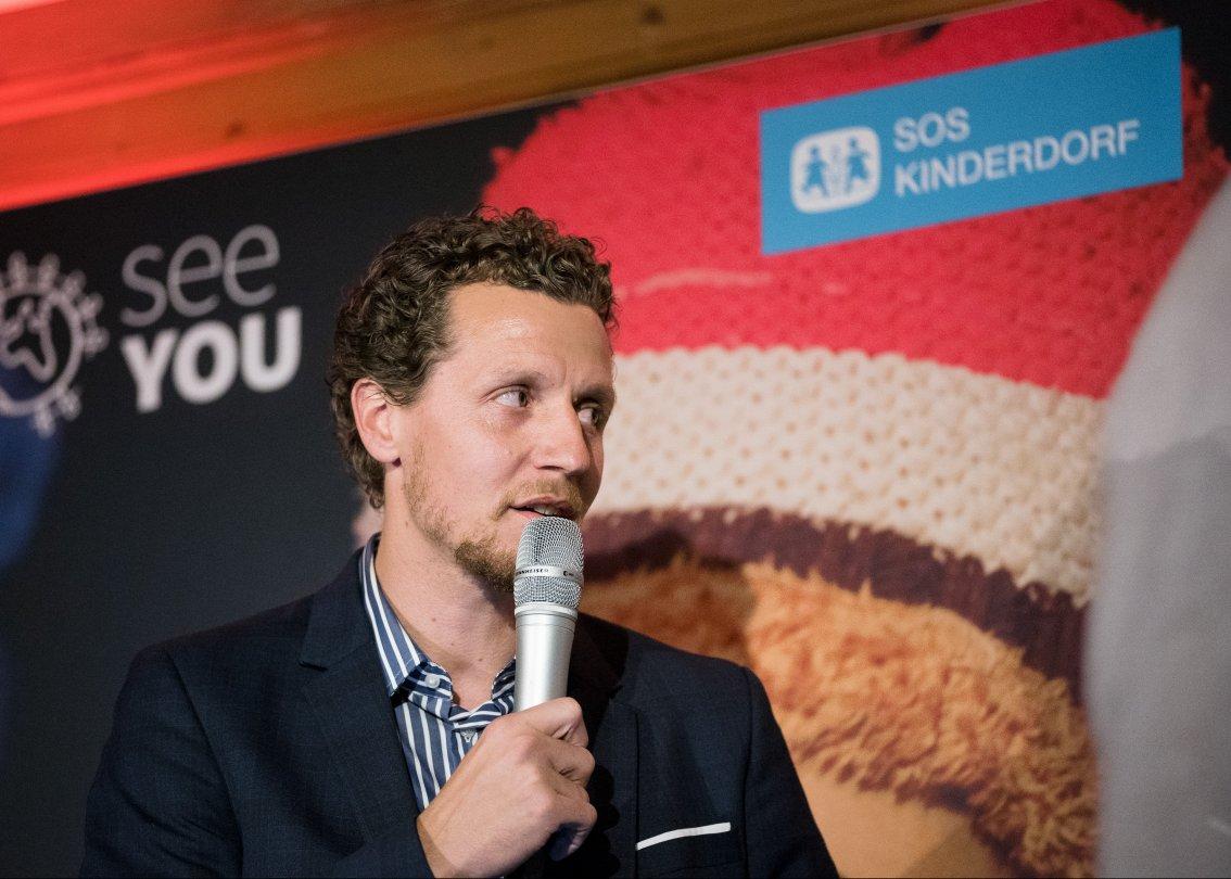Marco Wölfli è ambasciatore di SOS Villaggi dei Bambini